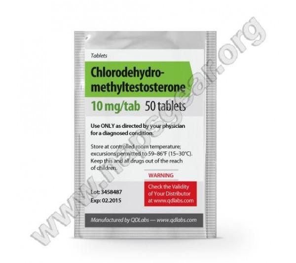 Chlorodehydromethylestosterone